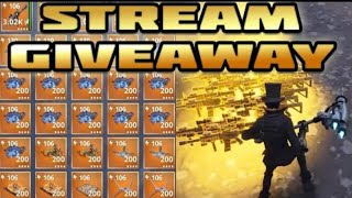 FORTNITE STW MASSIVE 106's GIVEAWAY /MISSIONS