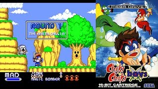 MEGA TWINS (Chiki Chiki Boys) SEGA Mega Drive/Genesis прохождение [051]