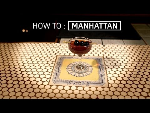 The Only Manhattan Recipe You'll Ever Need