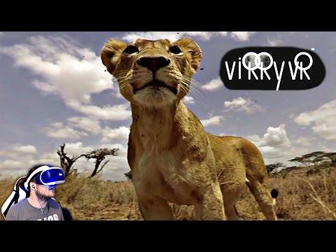 African Wildlife In PSVR - VIRRY VR (Ps4 Pro Gameplay)