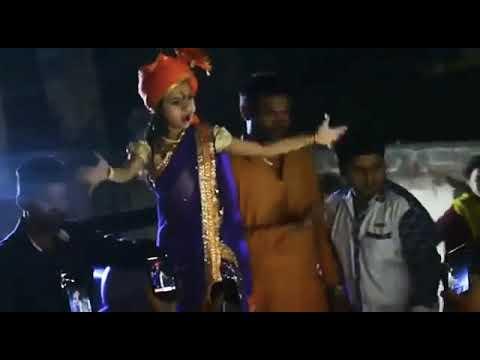 Dipali Borkar dancing on bajarang song