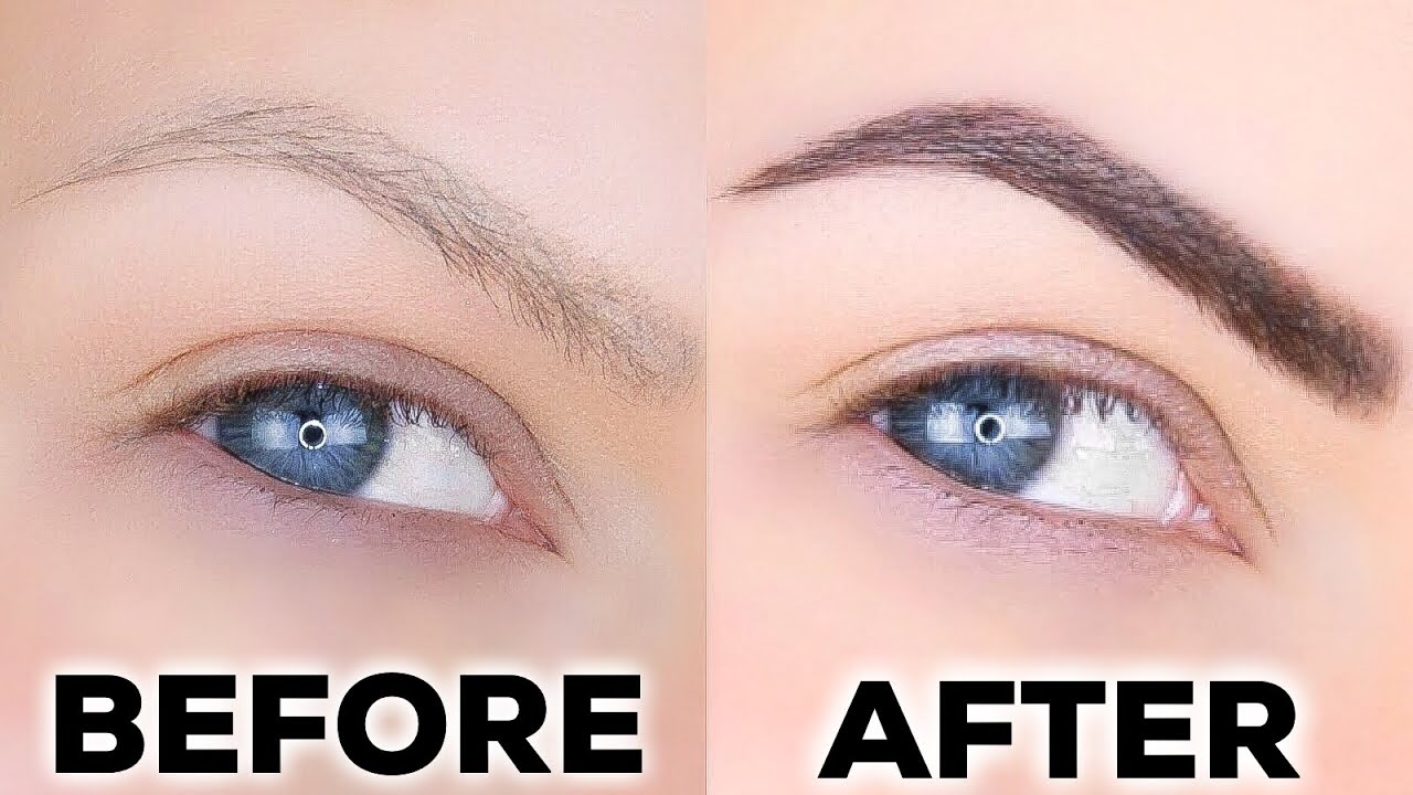 How To Tint Your Eyebrows At Home Cheap Fast Simple Youtube