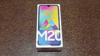 Samsung Galaxy M20 Unboxing and Overview