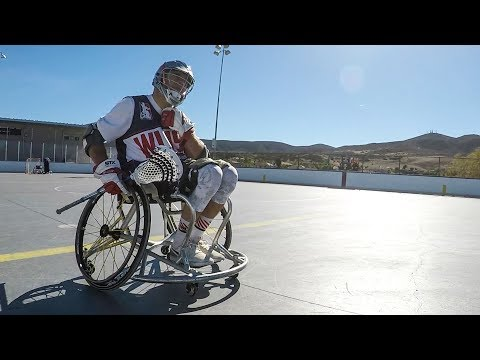 This Is Wheelchair Lacrosse