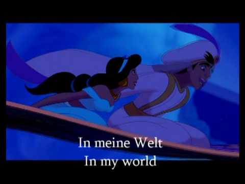 Aladdin - A Whole New World German translation