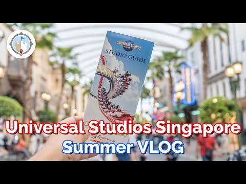 A Day Universal Studios Singapore In The Summer + Resorts World Sentosa Tour