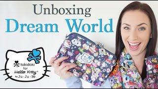 DREAM WORLD Ju Ju Be x tokidoki x Hello Kitty Unboxing + Up Close!