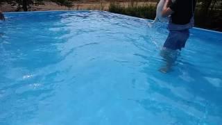 짱구의 첫 수영