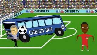 Chelsea 1-3 Liverpool (Goals Highlights Funny Cartoon 2015) Coutinho,Benteke