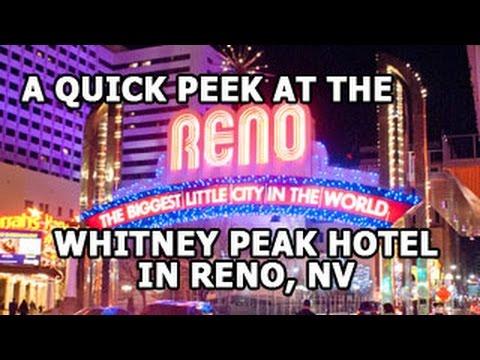 Whitney Peak Hotel in Reno, NV