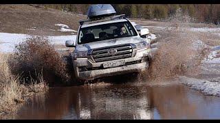 Review Toyota Land Cruiser 200  / Toyota Land Cruiser 200 / Тест-Драйв Игорь Бурцев(Устроить настоящий тест-драйв внедорожников Тойота Ленд Крузер 200 и Прадо возможно