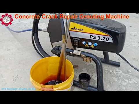 Concrete Crack Repair Grouting Machine   Epoxy Injection Concrete Crack Repair Equipment  