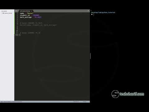 Bangla Python Tutorial - 02.13 - print() basic format thumbnail