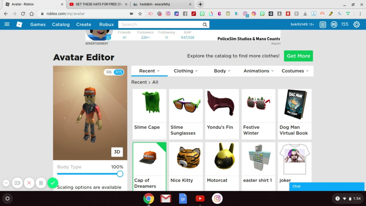 Roblox Catalog Free Items 2019 | StrucidCodes.org
