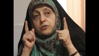 Lake Urmia disastrous situation told by Masoumeh Ebtekar during her trip to West Azarbayjan