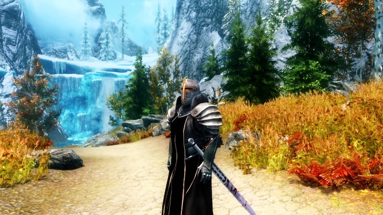 Skyrim Templar Armor Version 1 0 Youtube