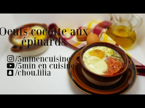 oeufs-cocotte-aux-épinards