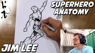 Jim Lee - How to draw Superhero Anatomy and Dynamic Figures