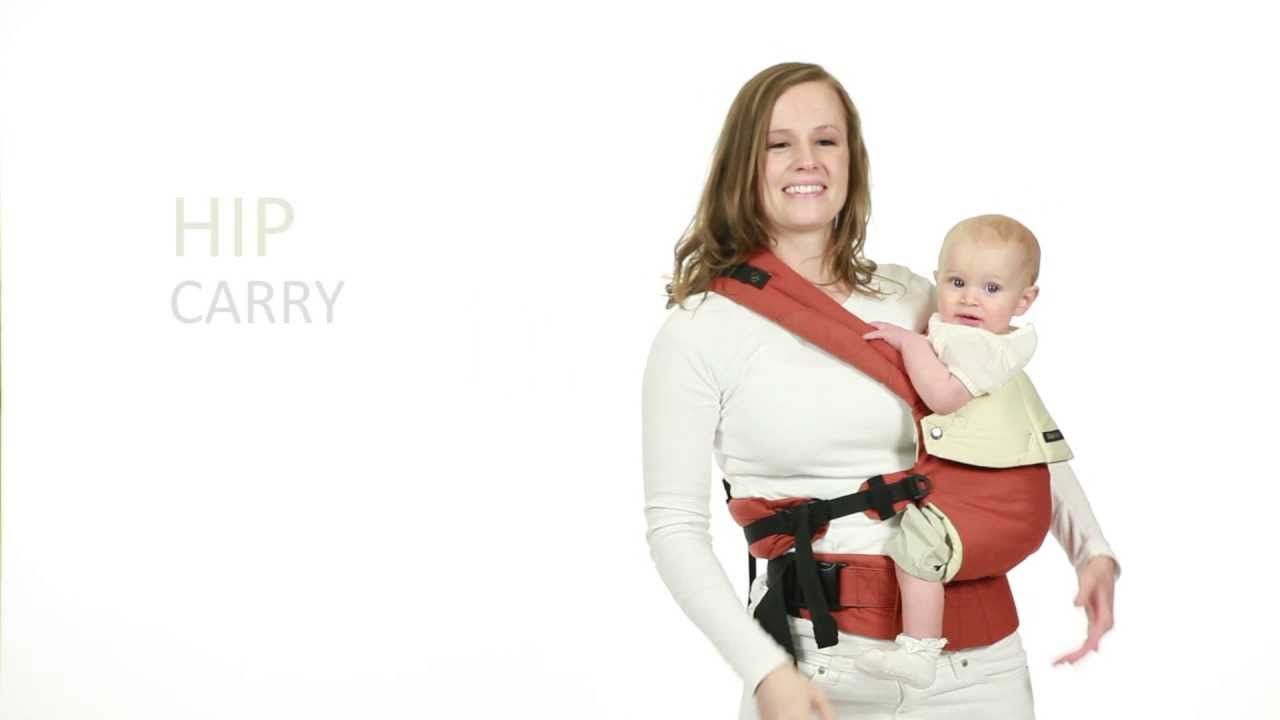 Lillebaby Complete Baby Carrier Hip Carry Instructions Youtube
