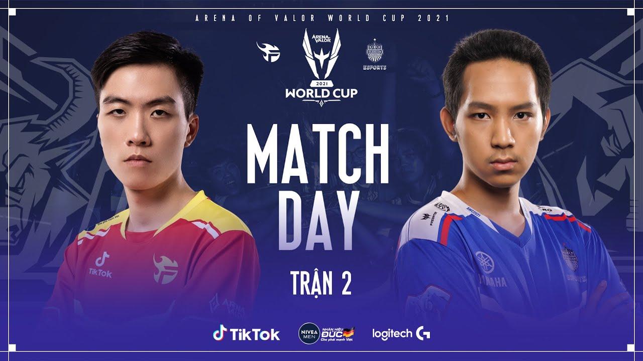AWC 2021 | Team Flash vs Buriram United Esports | Bảng A (2/2) | XB Channel