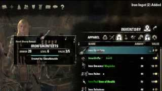 Elder Scrolls Online Smithing Guide / Tutorial Research Trait Extracting Part 2