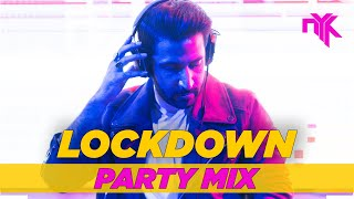 DJ NYK - Lockdown Party Mix | Non Stop Bollywood, Punjabi, English Remix Songs 2020