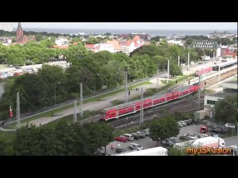 Travel Video: From Warnemünde through Mecklenburg region to Wismar Germany in HD