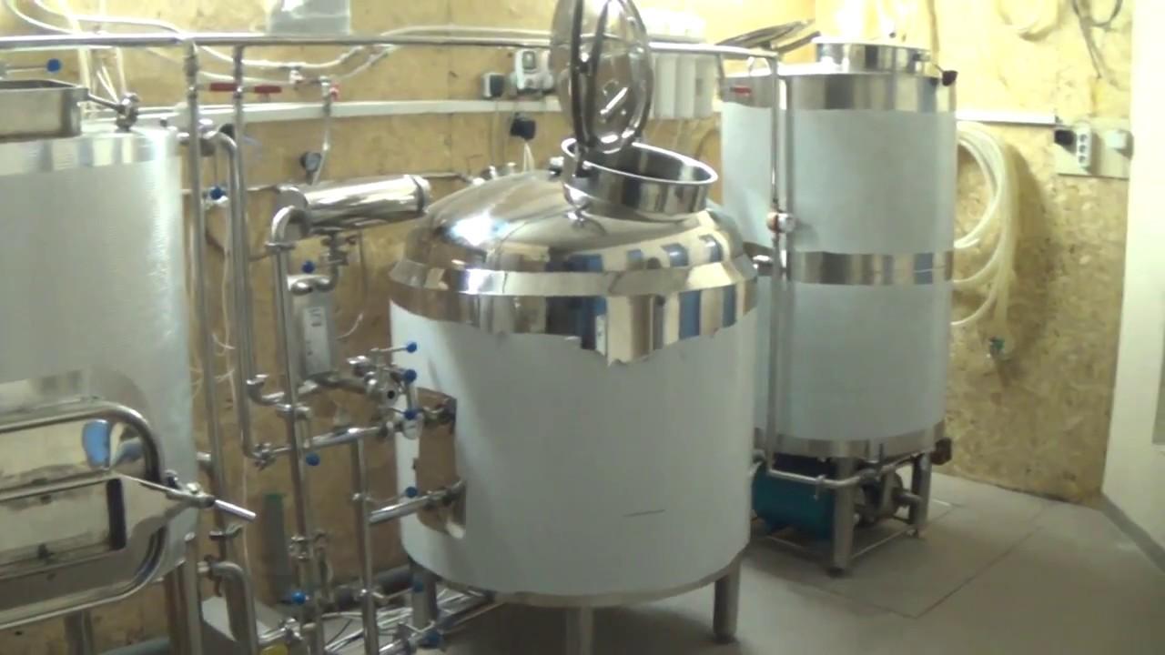 Варочный порядок на 300 литров (пивоварня 300 литров) - YouTube