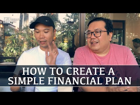 How to Create a Simple Financial Plan