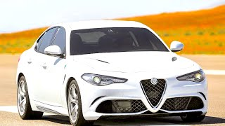 New alfa romeo giulia 2016 - preview first test drive only sound