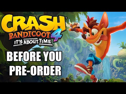 Crash Bandicoot 4: It's About Time – 10 Things You Need To Know Before You Pre-Order