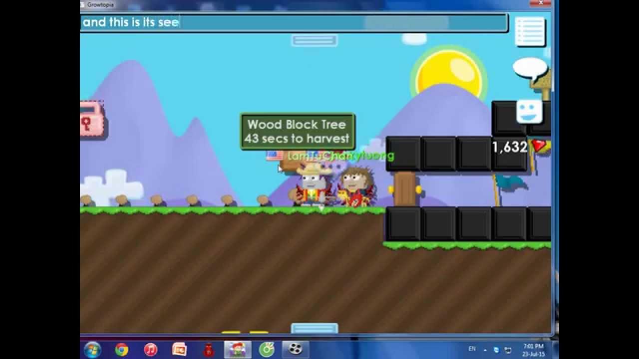 mistä ostaa monia tyylejä tavata Growtopia Ep.2 : Making Wood Block Seed - YouTube