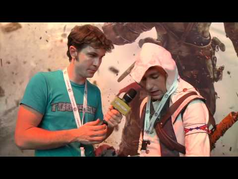 Assassin's Creed 3 - Tobuscus Interview E3 2012 [Europe]