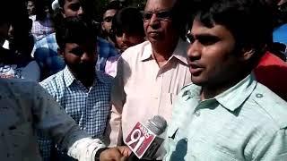 कृषि विश्वविद्यालय में आरक्षण नियमों की पालना कराए सरकार SSYU -डॉ राम मीणा