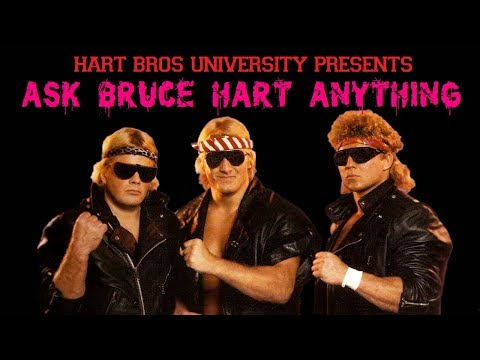 Ask Bruce Hart Anything - Fan Q&A Shoot Interview