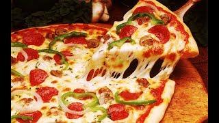 Pizza recipe in microwave oven - Homemade Veg Pizza-Pizza at Home-Pizza recipe on Tawa-Bread Pizza