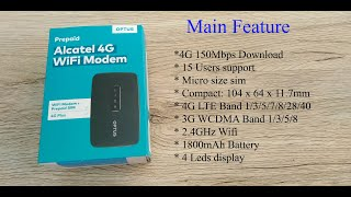Unboxing Plus | Alcatel Link Zone MW41CL Optus 4G Wifi Modem