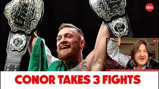 Conor McGregor takes three fights before quitting | Gareth A Davies