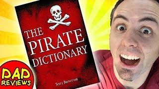 How to Talk Like a Pirate Book | Pirate Dictionary Review (not in pirate talk)