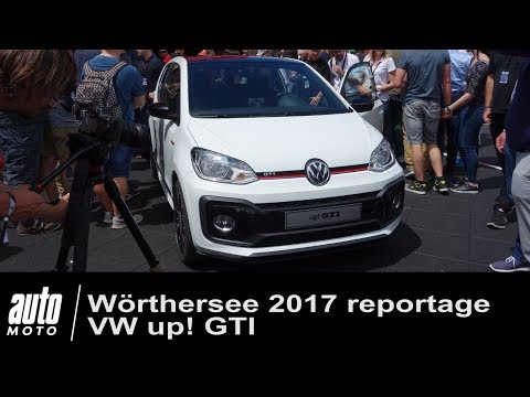 WORTHERSEE 2017 Volkswagen up! GTI 2018 & GOLF GTI TCR [REPORTAGE]