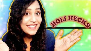 7 LIFE Saving Holi Hacks You Most Try #Beauty#Haircare#Skincare# Creative Pooja