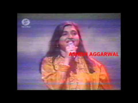 Kumar Sanu & Alka Yagnik Rare Stage Show from the 90s