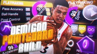 NBA 2K20: Best Point Guard GOD Build!