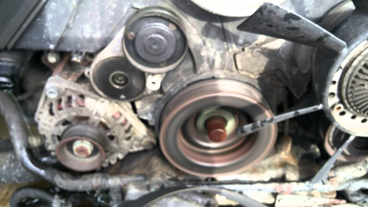 2000 audi a6 engine diagram cooling system bad water pump bearing    audi       a6    2 7t youtube  bad water pump bearing    audi       a6    2 7t youtube