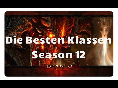 Download Youtube: Diablo 3: Die Besten Klassen für Season 12 (Patch 2.6.1, Meta, Buffs)