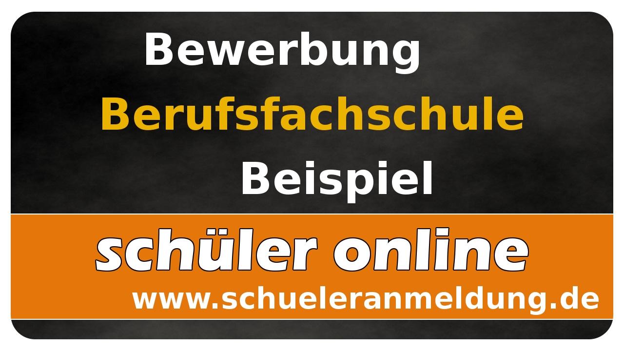 lets learn schler online 04 bewerbung fr eine berufsfachschule beispiel - Schuler Bewerbung