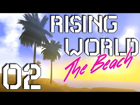 Rising World Gameplay - Mining and Cooking - Let's Play, Part 2
