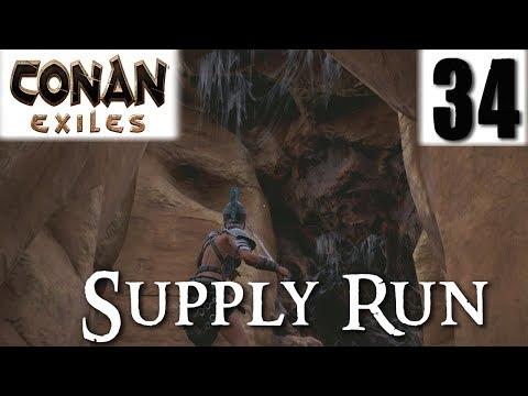 CONAN EXILES #34 - Supply Run