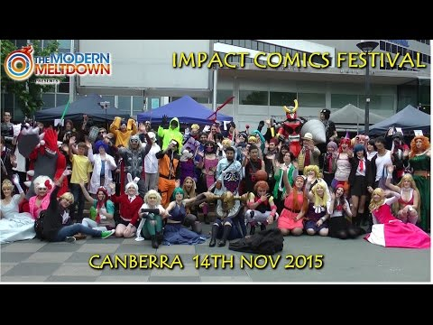 Impact Comics Festival 2015 - Cosplay Music Video