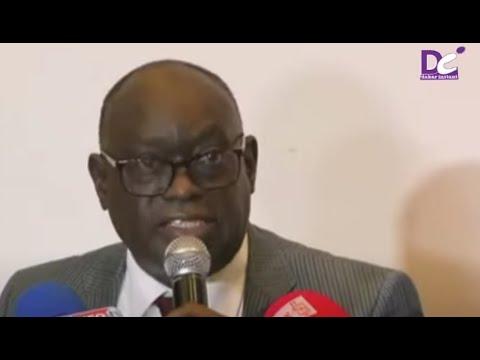 Mr EL hadj diouf Face a la presse